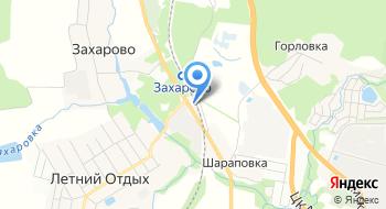 Автотехцентр Захарово на карте