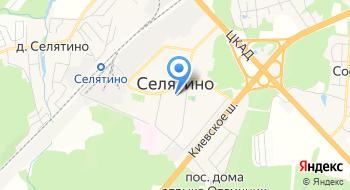 Автостекло Селятино на карте