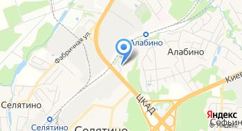 НПФ-ВТ пос. Алабино на карте