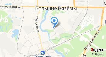 Радонеж на карте