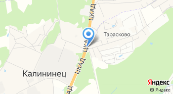 Автошкола Цамп Форсаж Калининец на карте
