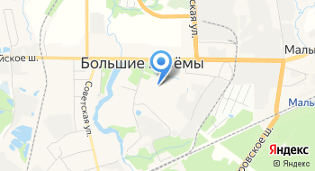 Большевязёмская школа искусств Филиал на карте