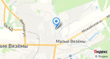 Автонео на карте