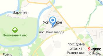 Ломоносовская школа на карте