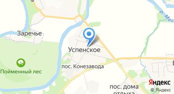 Московский конный завод №1 на карте