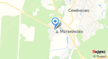 Администрация Сельского Поселения Назарьевское Одинцовского Муниципального района на карте