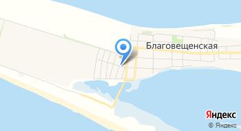 Гостевой дом Добро, станица Благовещенская на карте