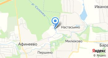 Афинеево Парк на карте