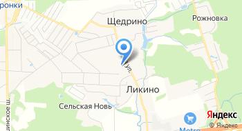 Администрация Сельского Поселения Жаворонковское Одинцовского Муниципального района терр. отд на карте