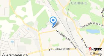 Всероссийское добровольное пожарное общество, межрайонное отделение на карте