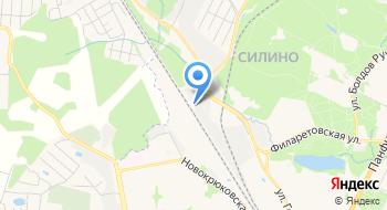 Зеленоградский грузовой шиномонтаж на карте