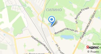 Московские потолки, производство на карте