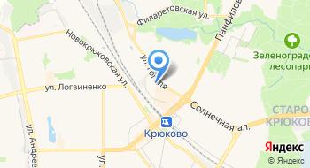 Следственное управление УВД по Зеленоградскому Административному округу ГУ МВД России по городу Москва на карте
