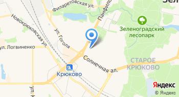 Московский научно-практический центр дерматовенерологии и косметологии, Филиал Зеленоградский на карте