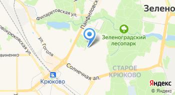 Каток, дворовая площадка на карте