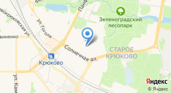 Отдел благоустройства района Старое Крюково на карте