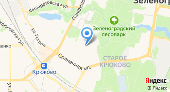 Спортивная школа №112 Спутник на карте