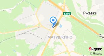 Автомойка в ТЦ Панфиловский на карте
