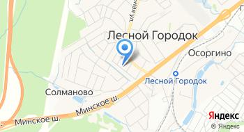 Одинцовская Электросеть Лесногородский РЭС на карте