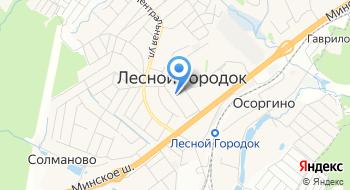 Рублевские колбасы на карте
