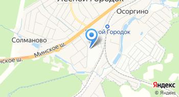 Оздоровительный комплекс Московского метрополитена на карте