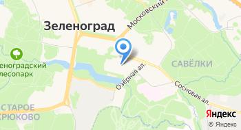 Зеленоградская Федерация каратэ на карте