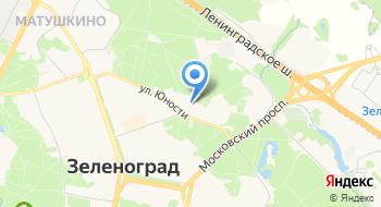Московский институт электронной техники, общежитие на карте