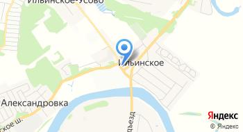 Совет депутатов сельского поселения Ильинское на карте