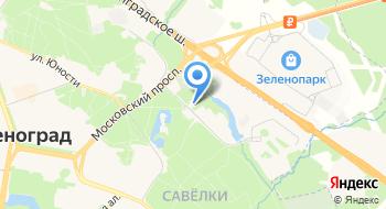 Психоневрологический диспансер № 22 Зеленоградский административный округ, Дневной стационар на карте