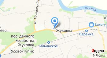 Визовый центр в Жуковке на карте