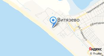 Отель Элита у моря Витязево. Анапа на карте