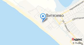 Отель Идеал у моря Витязево. Анапа на карте