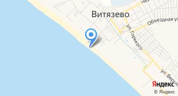 Пляжная территория ГД Золотой клен на карте