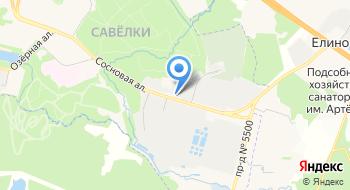 Автосервис АМС на карте