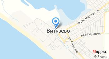 Пляжная территория Гостевой до Отель Понтос на карте