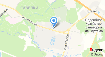 Школьный комбинат питания г. Зеленограда на карте