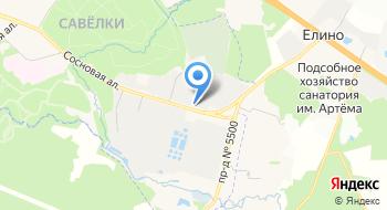 Интернет-магазин Kashpo.ru, Склад на карте