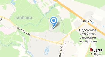 Зеленоградское центральное кладбище на карте