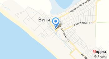Бювет Витязево на карте