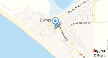 Пляжная территория санатория Глобус на карте
