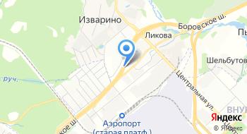 Контейнерный терминал Голдконтейнер-Внуково на карте