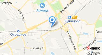 Динап на карте