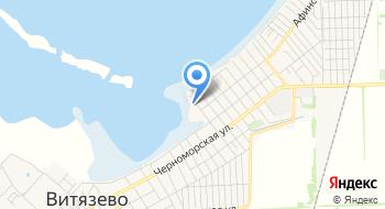 МБУК Анапская ЦБС Витязевская сельская библиотека, филиал №10 на карте