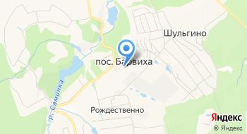 Клинический санаторий Барвиха Теннисный клуб на карте