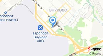 Авиакомпания Орион-Икс на карте