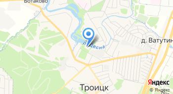 Пансионат для пожилых Калужский на карте
