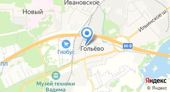 Нисон на карте