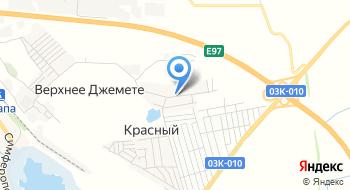Мбук Анапская ЦБС Сельская библиотека - филиал №21, х. Красный на карте