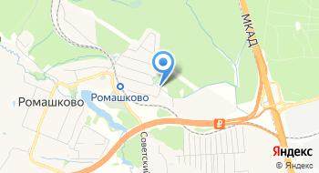 ФСК Ромашково на карте