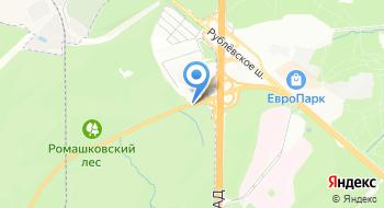 Мотоциклетная Федерация России на карте